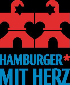 Hamburger mit Herz Logo Lernkreis Esche Jugendkunsthaus