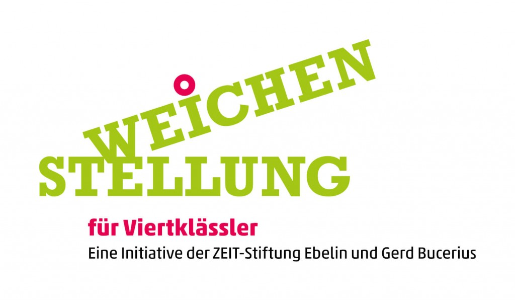 Weichenstellung ZEIT-Stiftung Viertklässler