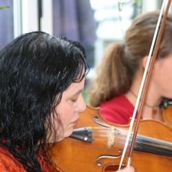 Kursleiterin Ingrid Schöller