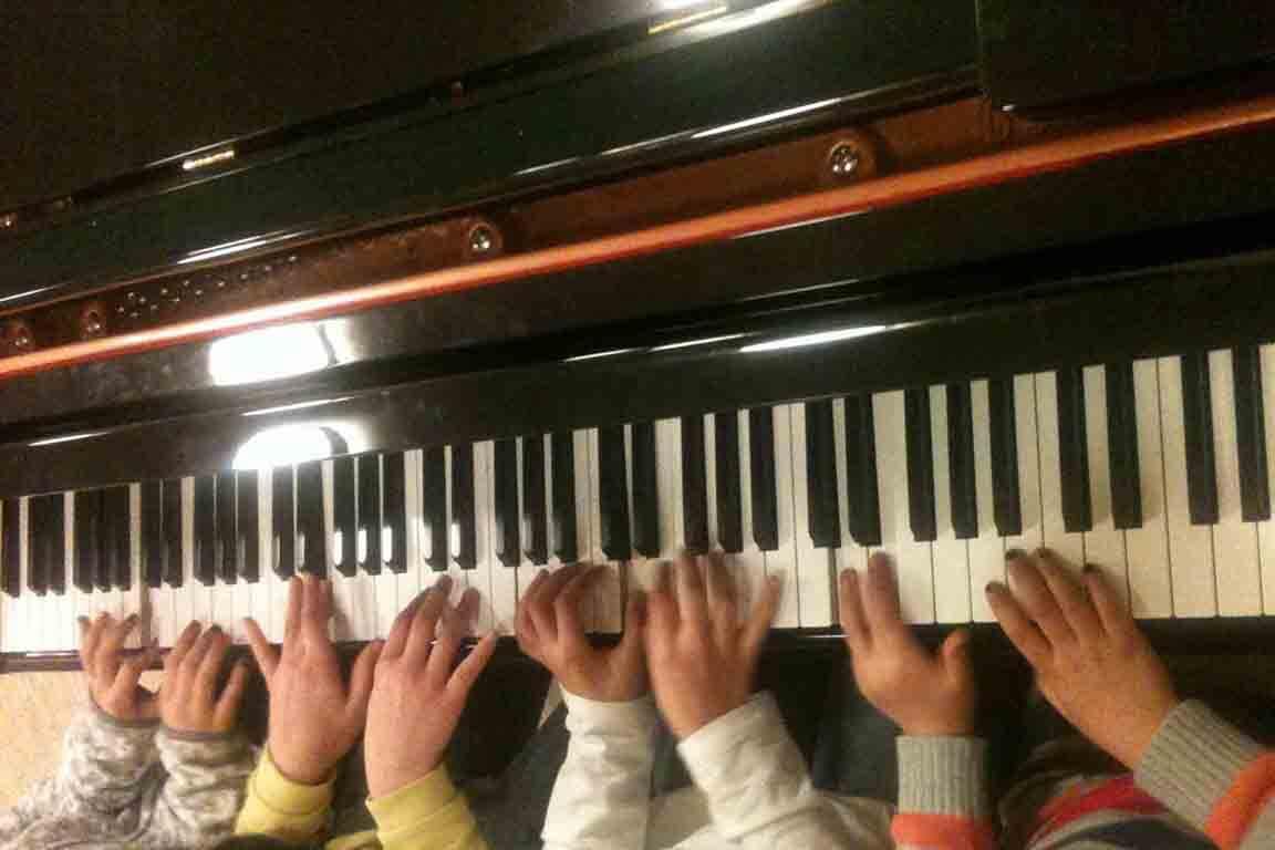 Programm Esche – Foto für Musica Altona - Tastenspaß am Klavier