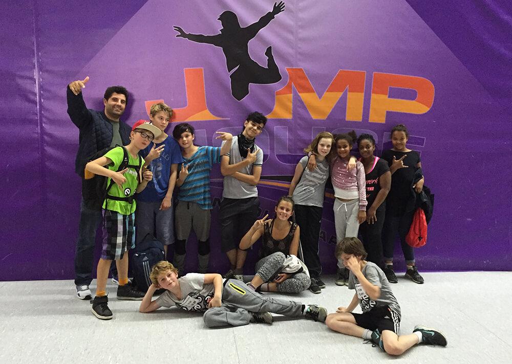 Esche Jugendkunsthaus Jump House Ausflug