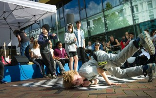 Fresh Rockers Breakdance Esche Jugendkunsthaus Gesundheitstag Altona