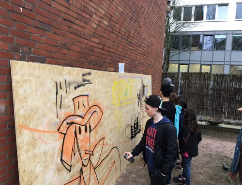 Can Corner – Graffiti für Fortgeschrittene