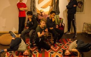 Kingstylez Breakdance Esche Jugendkunsthaus Kurs
