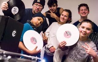 Plattenkratzer NDR 90,3 DJ Sratching Jugendkunsthaus Esche D-Flame Mirko Machine