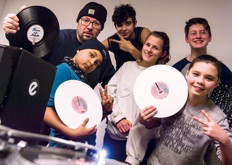Plattenkratzer NDR 90,3 DJ Sratching Jugendkunsthaus Esche Mirko Machine Beats