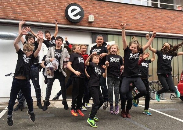 Breakdance VHS Sonny Tee TalentCAMPus Volkshochschule Ferien Esche Jugendkunsthaus