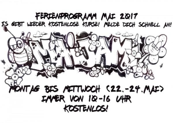 Pfingstferien Mai Breakdance Ferien Graffiti Workshop Kurs Esche Jugendkunsthaus