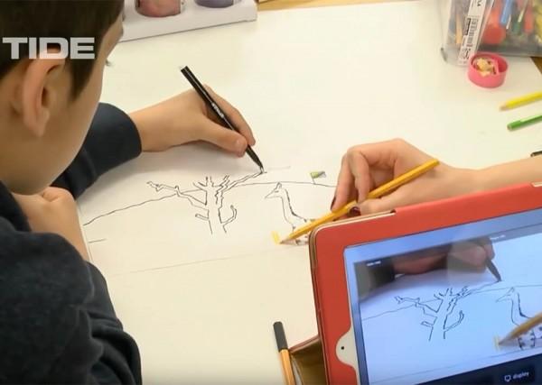 TIDE TV Fernsehen Esche Jugendkunsthaus Stop Motion Lab Trickfilm