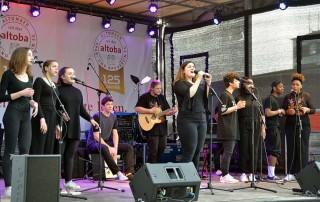 Soulwriting altoba Hoffest Auftritt Esche Jugendkunsthaus