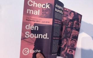 Esche Jugendkunsthaus Programm 2017 2018