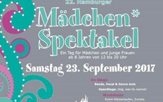 22. Mädchenspektakel Hamburg Jugendkunsthaus Esche 2017