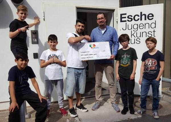 Membrs App Esche Jugendkunsthaus Spende