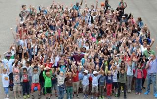 talentCAMPus Gruppenbild Herbstferien 2017 Jugendkunsthaus Esche
