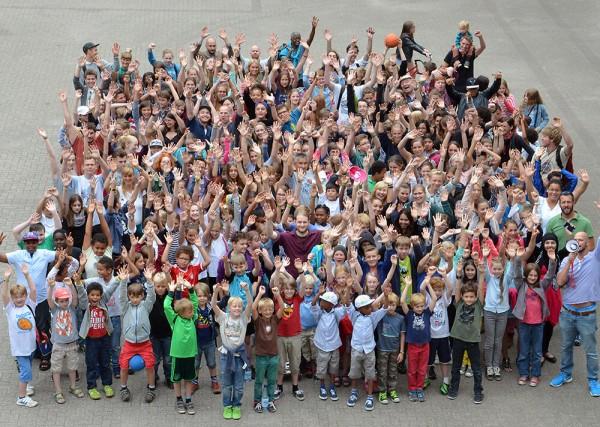 talentCAMPus Junge Volkshochschule Gruppenbild Jugendkunsthaus Esche