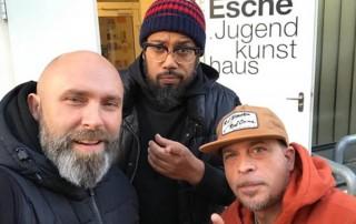 Samy Deluxe, Niko Backspin Beat Boy Delles Esche Jugendkunsthaus 2017
