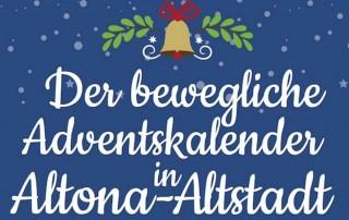 beweglicher Adventskalender Altona-Altstadt Esche Jugendkunsthaus 2017