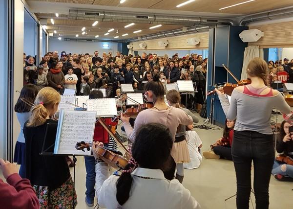 Geigensterne Winterfest 2017 Esche Jugendkunsthaus