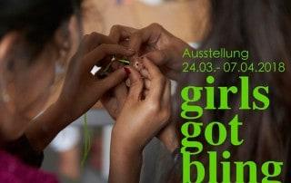 Girls Got Bling Kids Welcome Ausstellung Ann Schubert Thomas Schmidt Esche Jugendkunsthaus