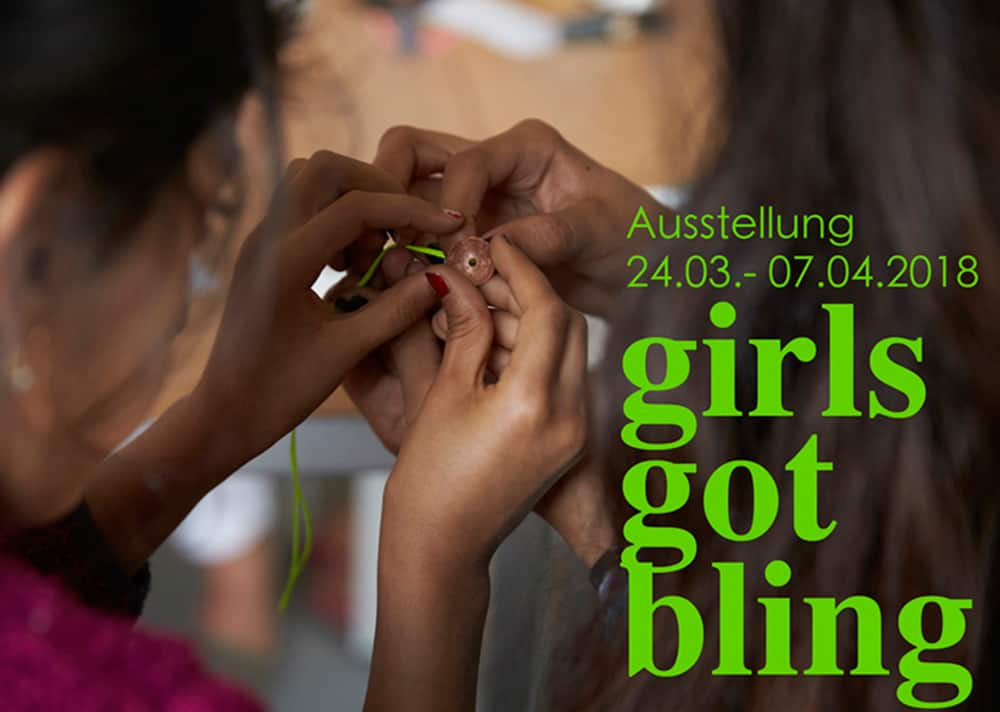 Girls Got Bling Kids Welcome Ausstellung Ann Schubert Thomas Schmidt Esche Jugendkunsthaus