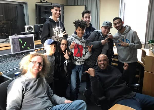 DeluxeKidz D-Flame Rap Ferienprogramm Esche Jugendkunsthaus