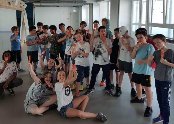 Abkühlung Flutschfinger für Fresh Rockers Esche Jugendkunsthaus 2018