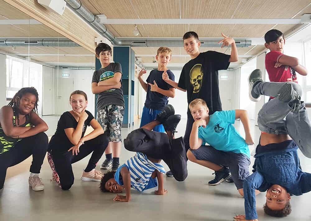 Programm Breakdance Graffiti Gesang Unterricht Workshop Jugendliche Esche Jugendkunsthaus