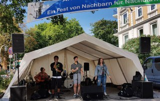 Soulwriter Arnoldstraßenfest 2018 Esche Jugendkunsthaus