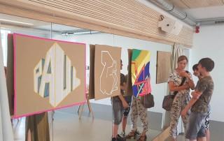 talentCAMPus Sommerferien 2018 erste Woche junge Volkshochschule Esche Jugendkunsthaus
