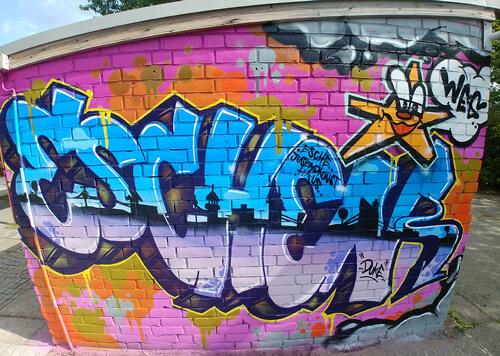 ReBBZ WInterhude Esche Grafitti