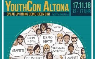 YouthCon Diakonie Hamburg Lawaetz Esche Jugendkunsthaus