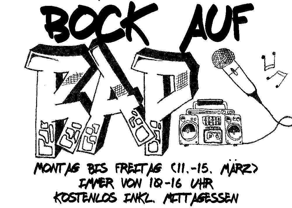Bock auf Rap in den Maerzferien 2019 Esche Jugendkunsthaus