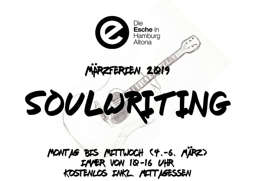 Maerzferien 2019 Soulwriting Esche Jugendkunsthaus