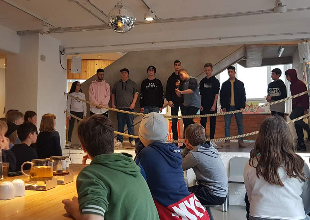 HipHop Rap Workshop Ferien D-Flame DeluxeKidz Esche Jugendkunsthaus Ferienprogramm