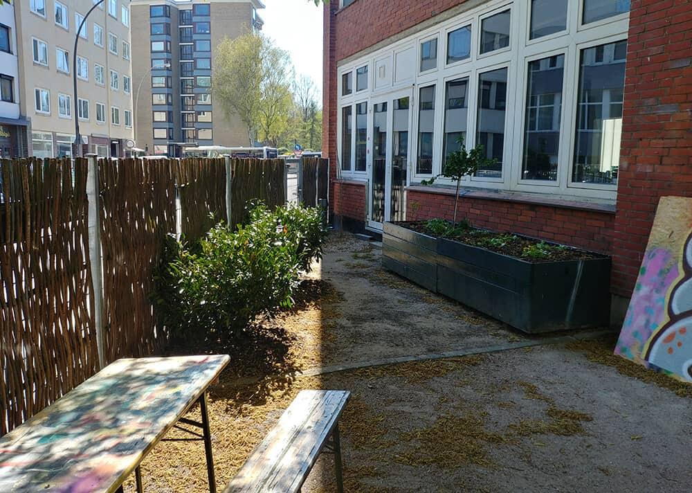 GardenArt Garten Esche Jugendkunsthaus April Frühling 2019