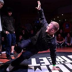 Yan Stesel Newstyle Breakdance Raskillz Esche Jugendkunsthaus