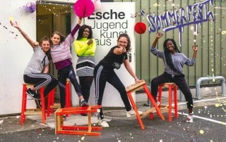 Sommerfest Juni Just Girls Soulwriting Esche Jugendkunsthaus Mai 2019