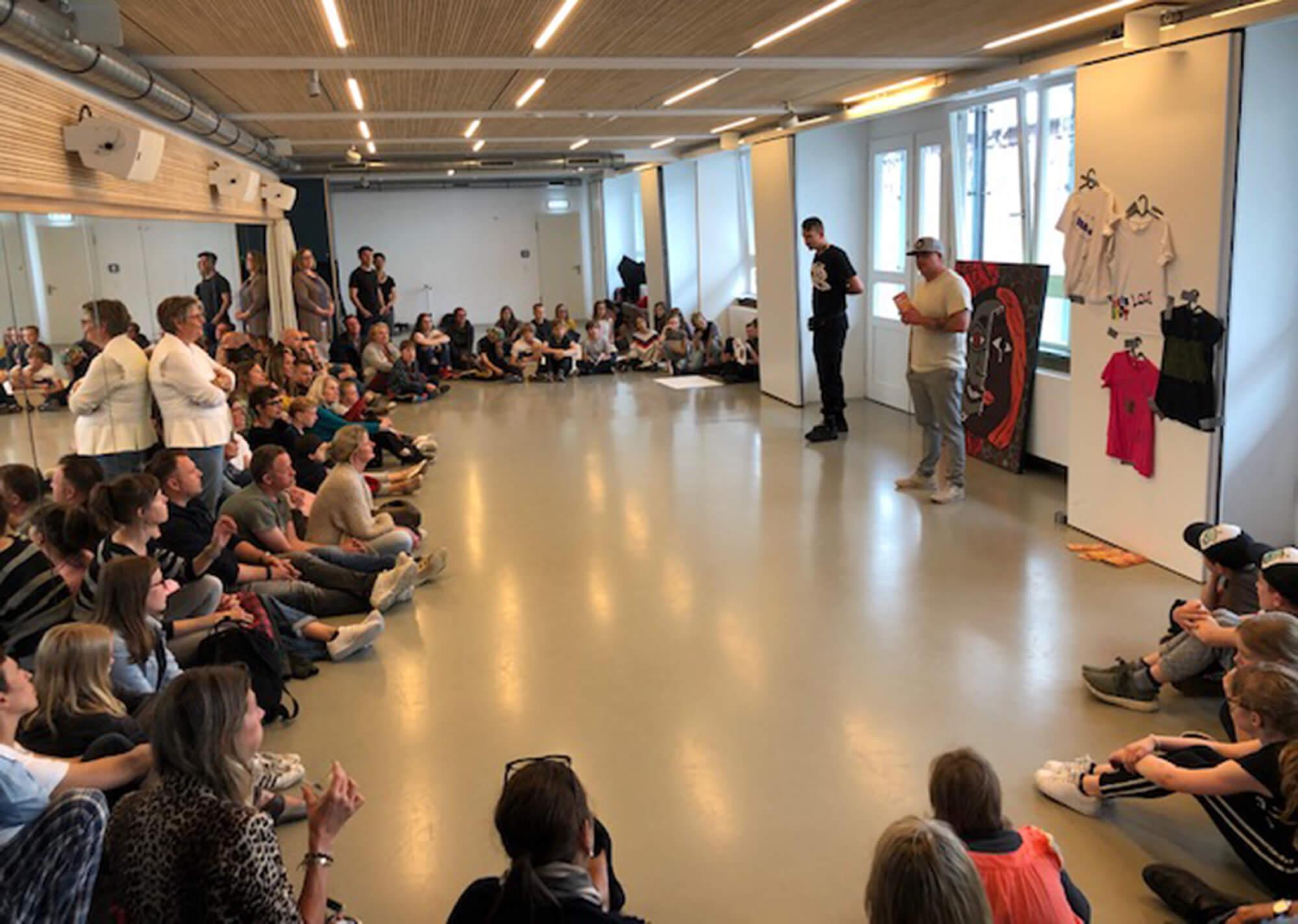 Abschlusspräsentation Ferienprogramm Sommerferien Juli 2019 Esche Jugendkunsthaus