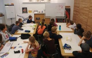 Atelier Graffiti Sommerferien Juli 2019 Esche Jugendkunsthaus