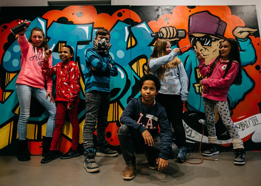 New Graffiti Bild Die Kunst ruft dich
