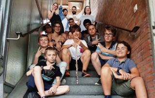 talentCAMPus Junge Volkshochschule Make your own Song Nora Becker Sébo songwriting Rap Workshop Esche Jugendkunsthaus Ferienprogramm