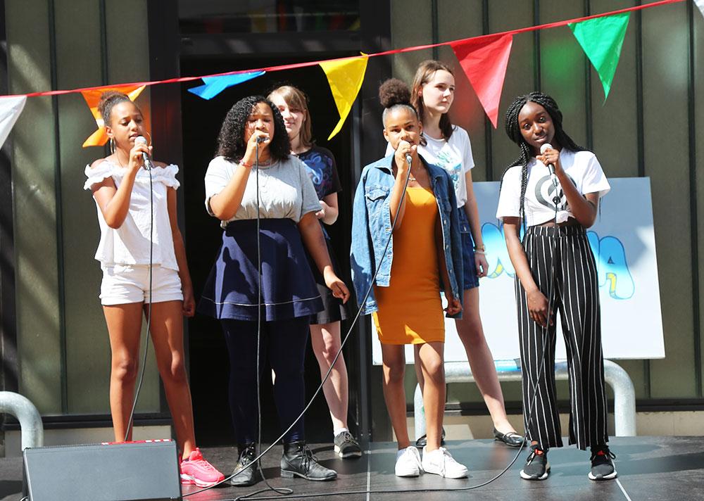 All Tones Juniors Gesangskurs Chor Esche Jugendkunsthaus