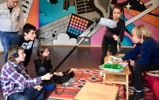 Drehbuchwerkstatt Film Workshop Kamera Esche Jugendkunsthaus