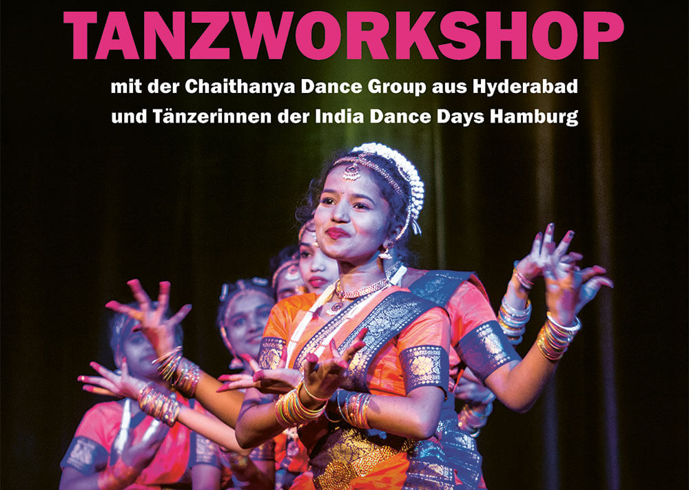 Indischer Tanz Workshop Bollywood Esche Jugendkunsthaus