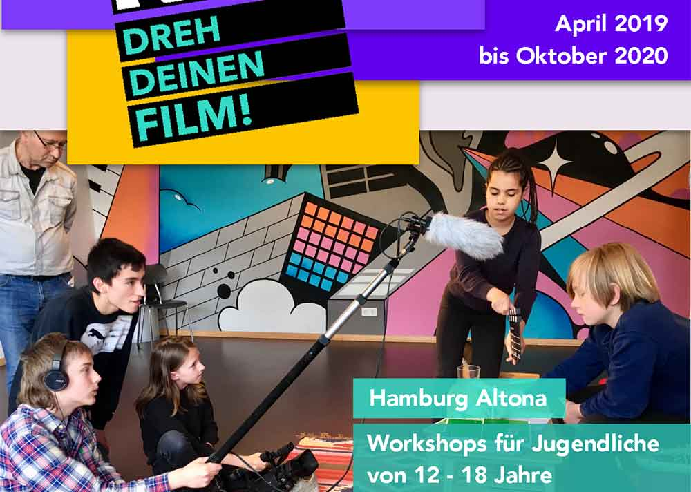 Drehbuchwerkstatt Ferien Dreh deinen Film Esche Jugendkunsthaus Workshop