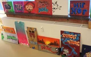 Graffiti und Gesang Ferien März 2020 Esche Jugendkunsthaus