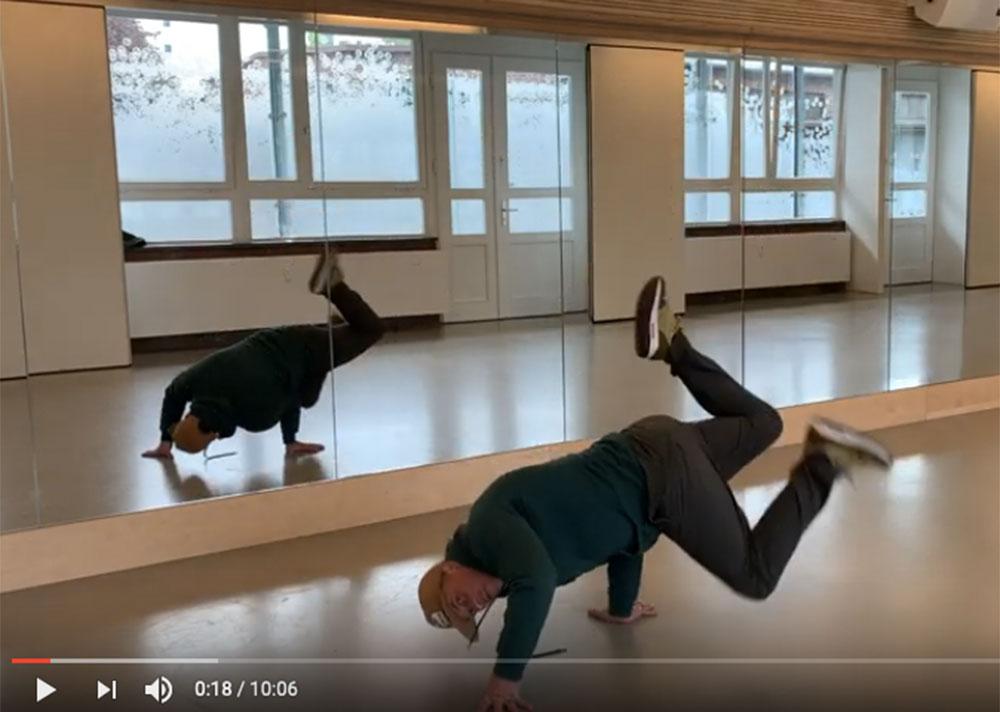 Beat Boy Delles Fresh Rockers Breakdance Esche Jugendkunsthaus