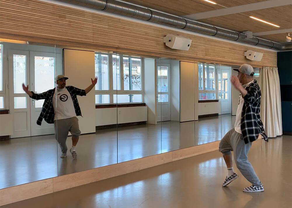 Resa Iranduyst Mr. Reese Urban Styles HipHop Tanz Online Tutorial Workshop Esche Jugendkunsthaus