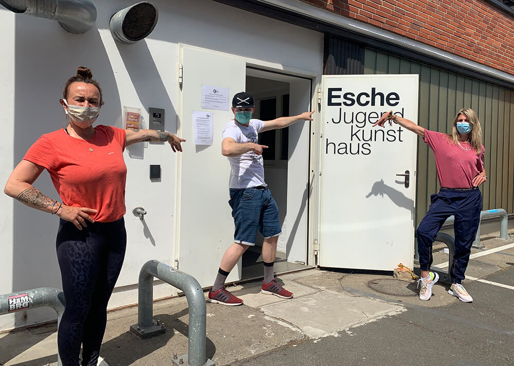 Corona Regeln Wiedereröffnung Esche Jugendkunsthaus